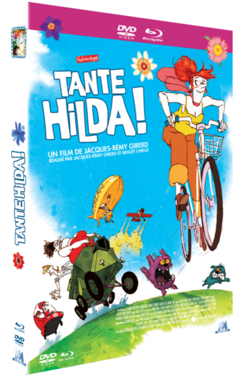 DVD/Blu-ray Tante Hilda !