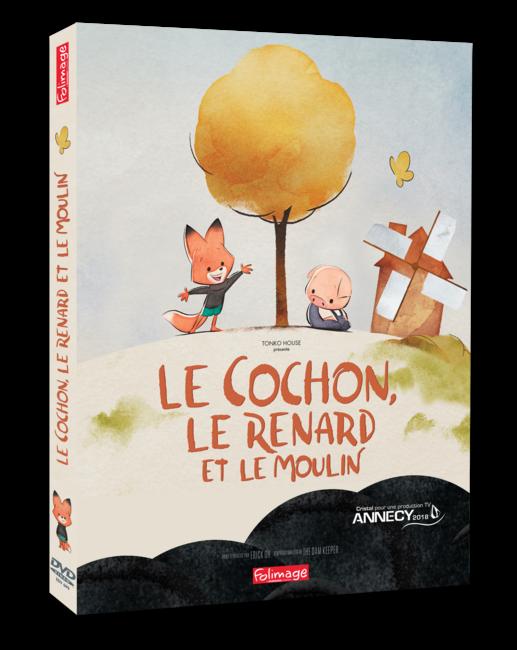 DVD Le Cochon, le renard et le moulin