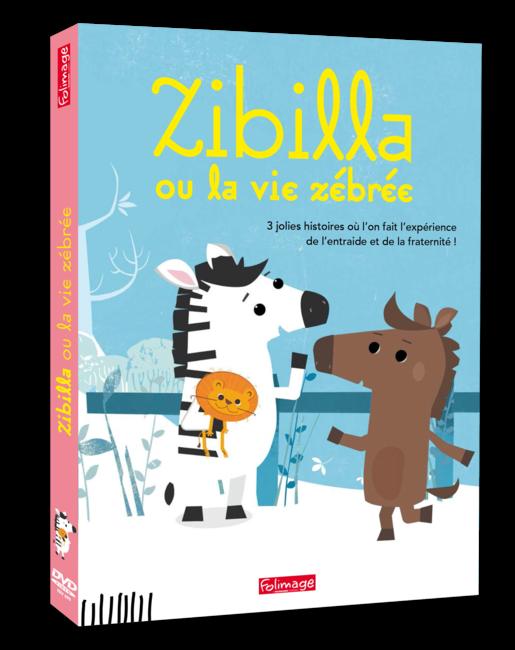 DVD Zibilla ou la vie zébrée