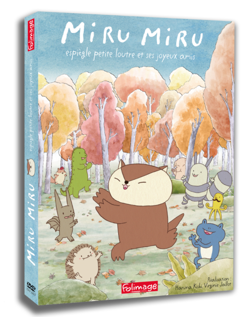 DVD Miru Miru - espiègle petite loutre et ses joyeux amis