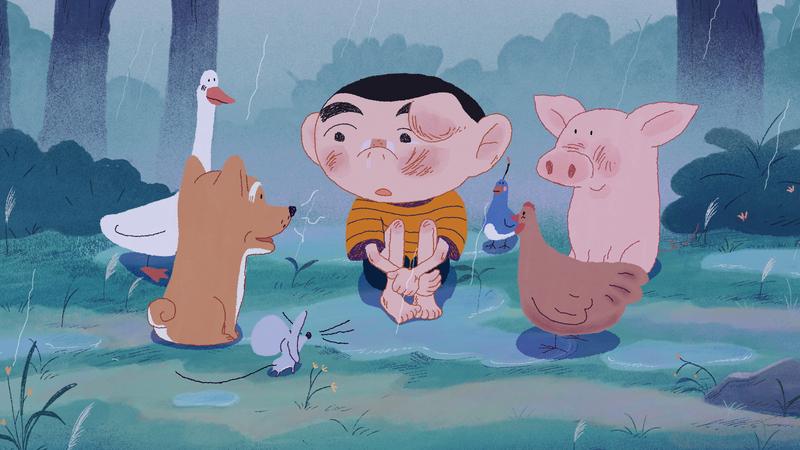Kiko et les animaux