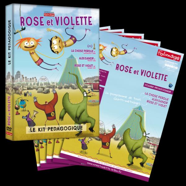 Kit pédagogique - Rose et Violette