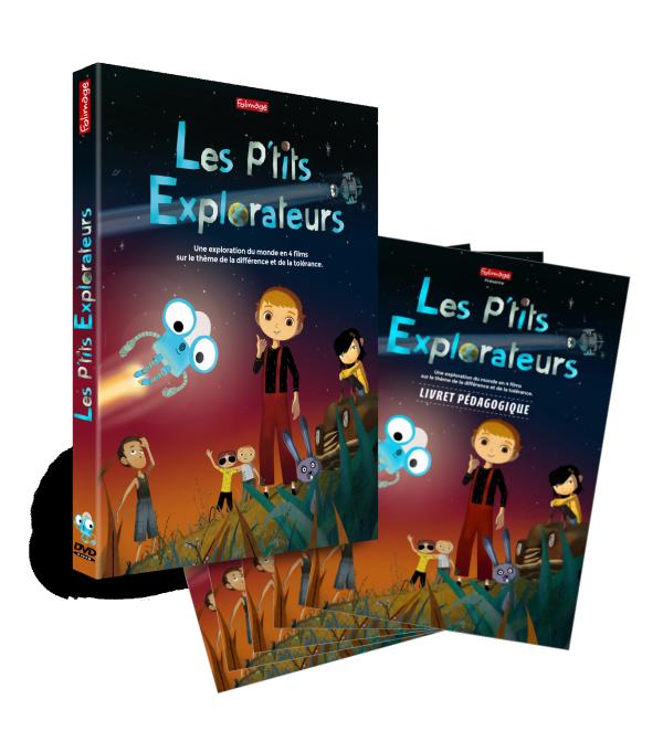 Kit pédagogique - Les P'tits Explorateurs