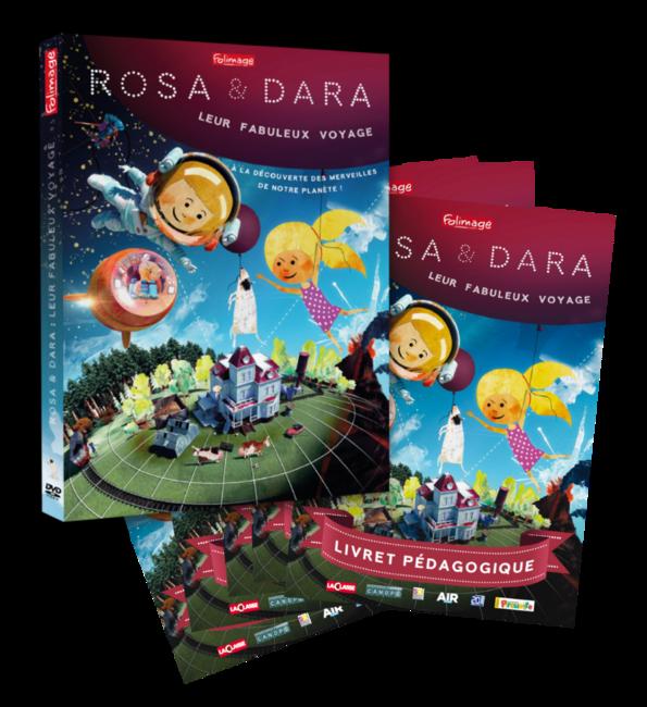 Kit pédagogique - Rosa & Dara : leur fabuleux voyage
