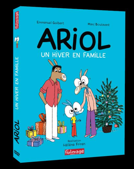 DVD Ariol - Un hiver en famille