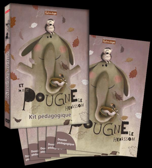kit pédagogique - 10 11 12 Pougne le hérisson