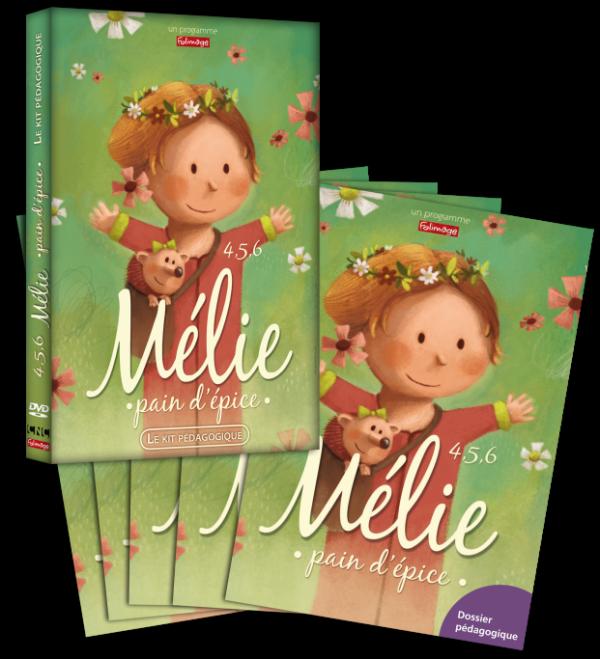 Kit pédagogique - 4 5 6 Mélie pain d'épice