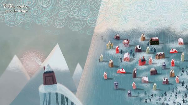 DVD Petits contes sous la neige