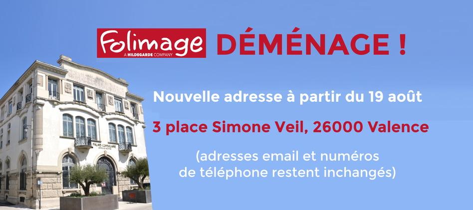 FOLIMAGE déménage : nouvelle adresse à partir du 19 août !