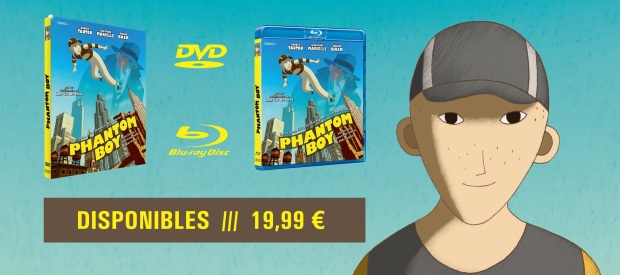 PHANTOM BOY en DVD et Blu-Ray !
