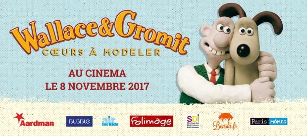 Ils reviennent le 8 novembre ! Wallace & Gromit : Cœurs à modeler
