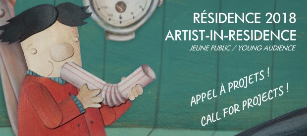 Résidence 2018 : appel à projets / Call for projects !