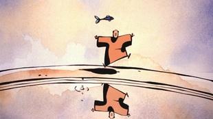 Le Moine et le poisson (Michael Dudok de Wit)