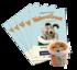 Kit pédagogique - Wallace & Gromit : Cœurs à modeler