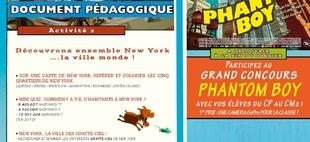 Dossier pédagogique et grand concours pour les écoles !