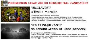 """""""Bisclavret"""" et """"Les Conquérants"""" présélectionnés aux César 2013 !"""