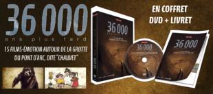 36 000 ans plus tard :  Coffret DVD + livret 64 pages