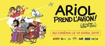 """""""ARIOL PREND L'AVION (et autres têtes en l'air)"""" au cinéma le 10 avril 2019"""