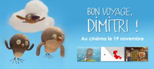 """""""Bon voyage, Dimitri !"""" au cinéma le 19 novembre 2014"""