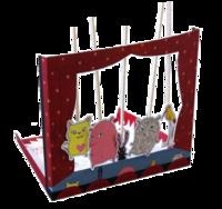 """Théâtre de marionnettes """"Coucou nous voilà !"""""""