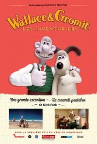 Affichette Wallace et Gromit : Les Inventuriers